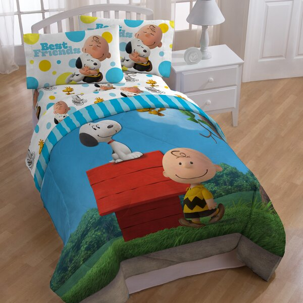 Sunny Day Twin Comforter Collection by Peanuts