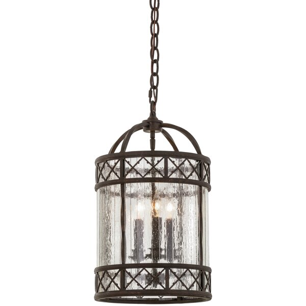 Antencio 3-Light Foyer Lantern by Meyda Tiffany