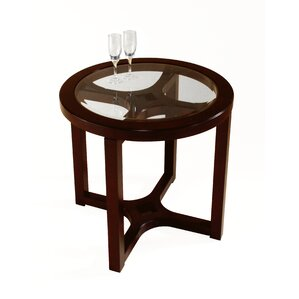 Sun King  End Table by Red..