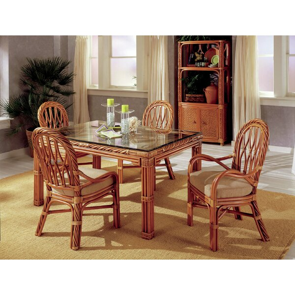 Galindo 5 Piece Dining Set by Bay Isle Home