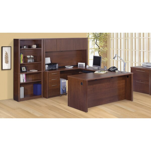 Witchel U-Shape Desk Office Suite with Hutch by Latitude Run