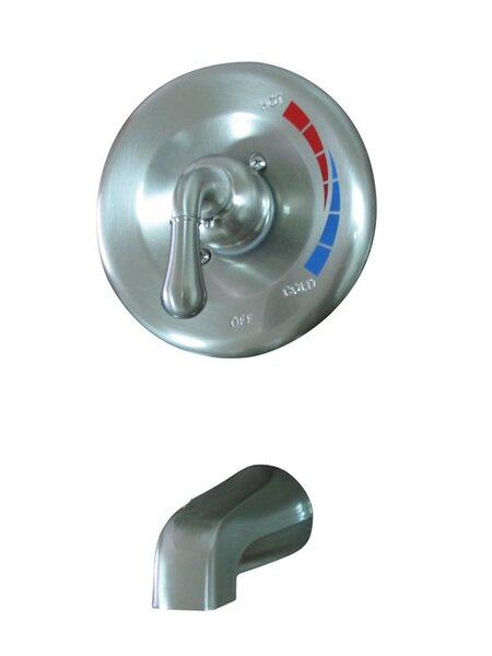 St. Charles Single Handle Wall Mounted Tub Spout by Elements of Design Elements of Design