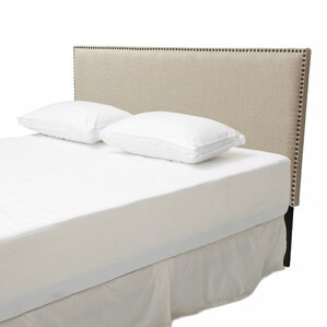Lawrence California King Upholstered Panel Headboard by Alcott Hill