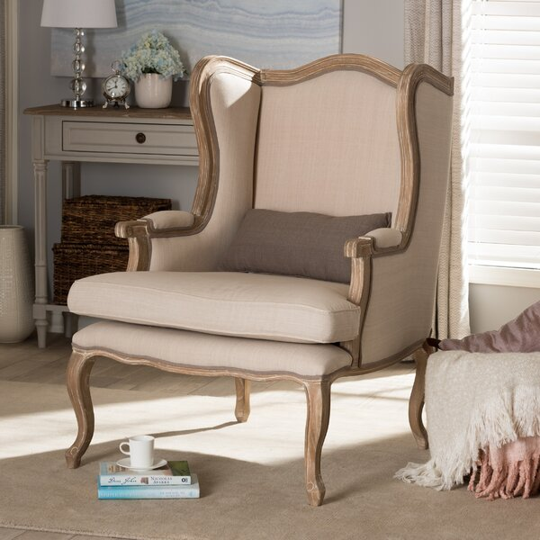 Westrick Wingback Chair by Ophelia & Co.
