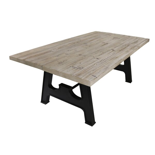 Juna Solid Wood Dining Table by Gracie Oaks