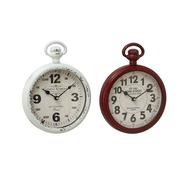 Wall Clock Set (Set of 2) by Cole & Grey