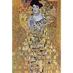 'Portrait of Block-Bauer' by Gustav Klimt Painting Print by Buyenlarge