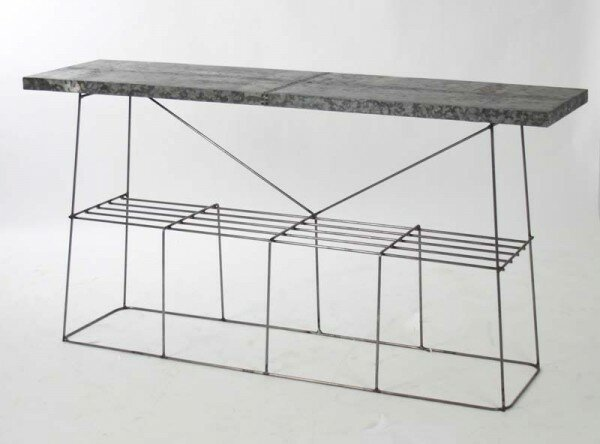 Drumheller Console Table by 17 Stories