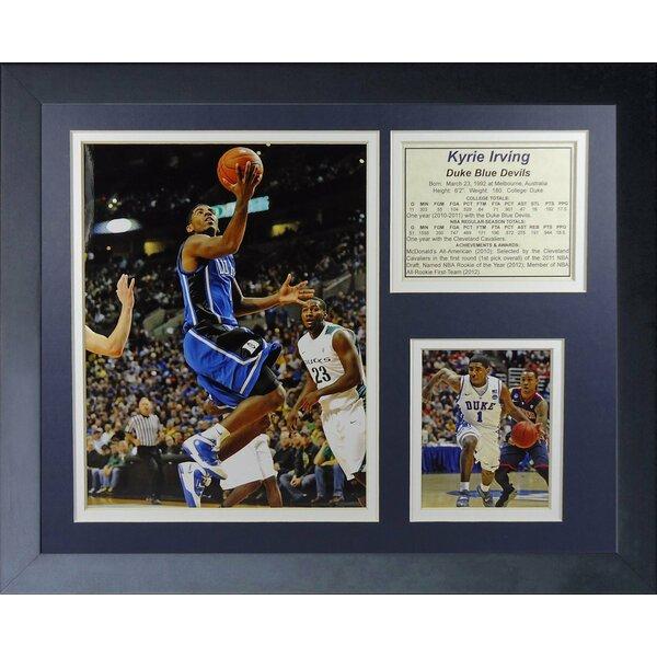 Kyrie Irving - Duke Framed Memorabilia by Legends Never Die