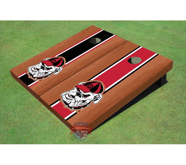 NCAA Hairy Dawg Cornhole Board (Set of 2) by All American Tailgate