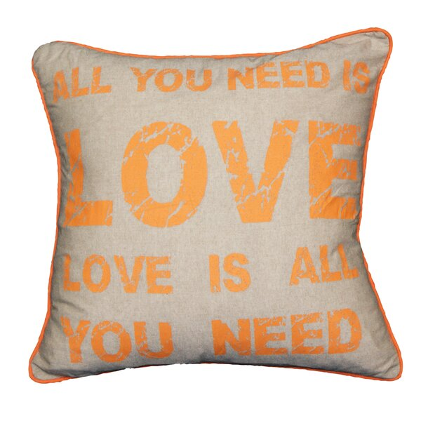Couch Potatoes All You Need Throw Pillow by Westex