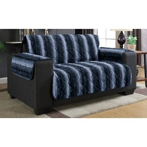 Luxury Box Cushion Loveseat Slipcover