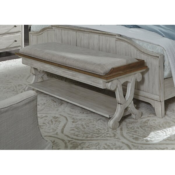 Ellerman Bedroom Upholstery Bench by Gracie Oaks