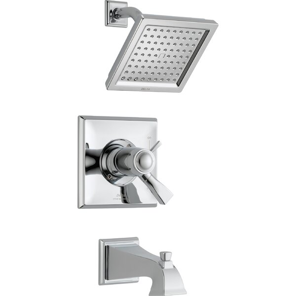 Dryden Tub and Shower Faucet with TempAssure by De