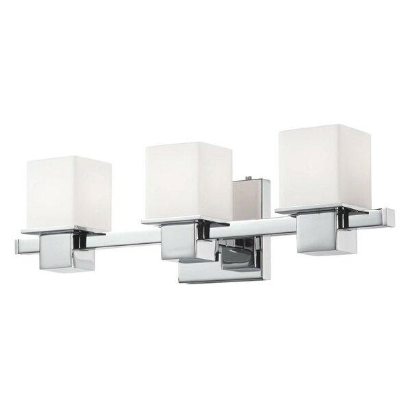Kaiden 3-Light Vanity Light by Ebern Designs