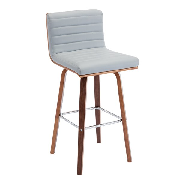 Alexio 28.15 Bar Stool by Ebern Designs