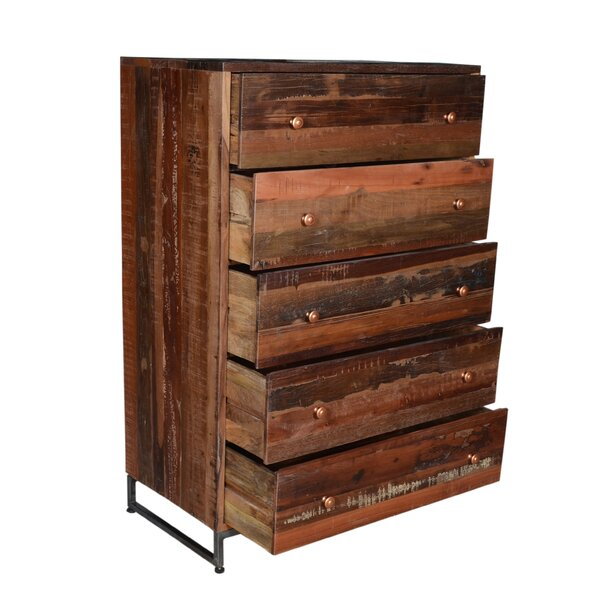 Milledgeville 5 Drawer Chest by Millwood Pines