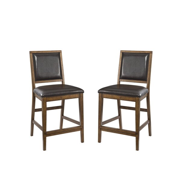 Whitacre 24 Bar Stool (Set of 2) by Millwood Pines