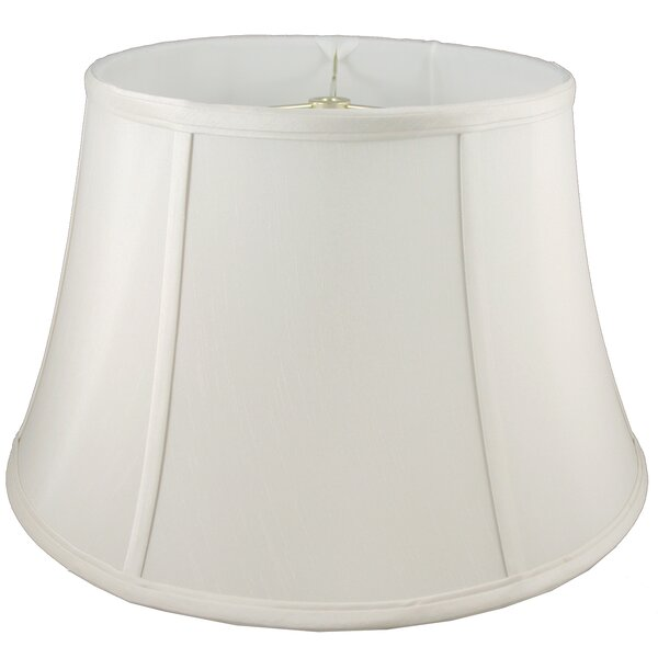 15 Faux Silk Bell Lamp Shade by American Heritage Lampshades