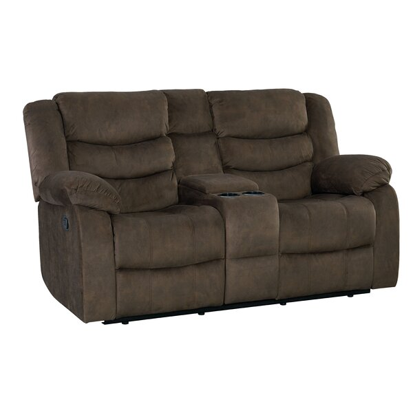 Find Out The Latest Eila Reclining Loveseat by Red Barrel Studio by Red Barrel Studio