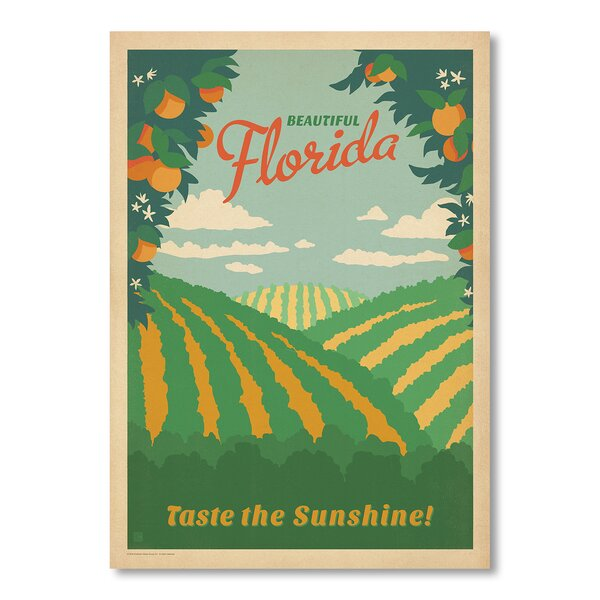 Florida Vintage Advertisement by East Urban Home