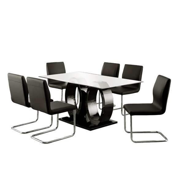 Benedict 7 Piece Dining Set by Hokku Designs
