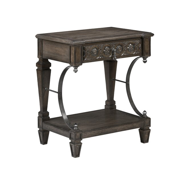 Mayview 1 Drawer Nightstand by Charlton Home