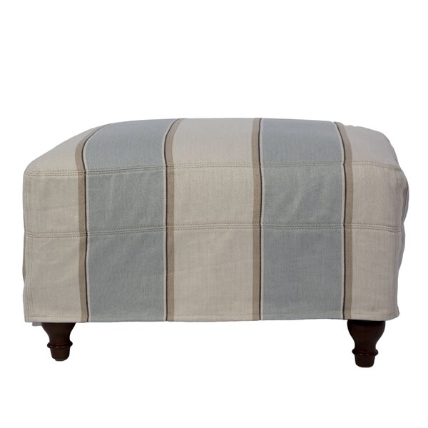 Seacoast Box Cushion Ottoman Slipcover By Sunset Trading Looking for