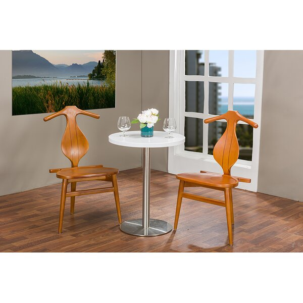 Sherwin Solid Wood Dining Chair (Set of 2) by Foundry Select