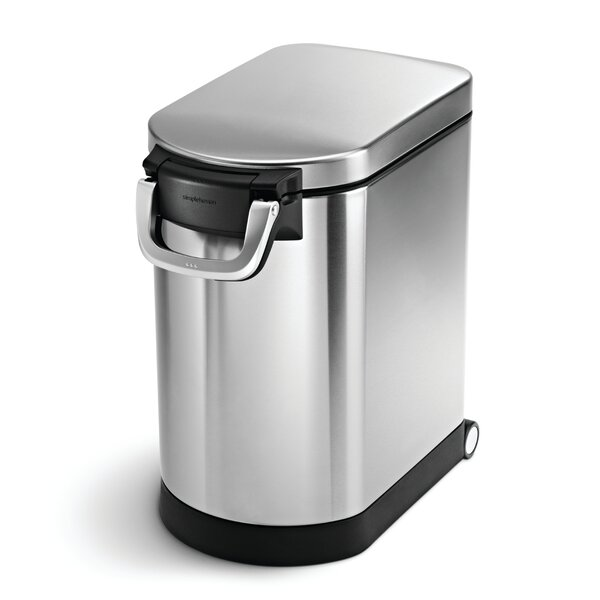 Pet Food Can, Stainless Steel by simplehuman