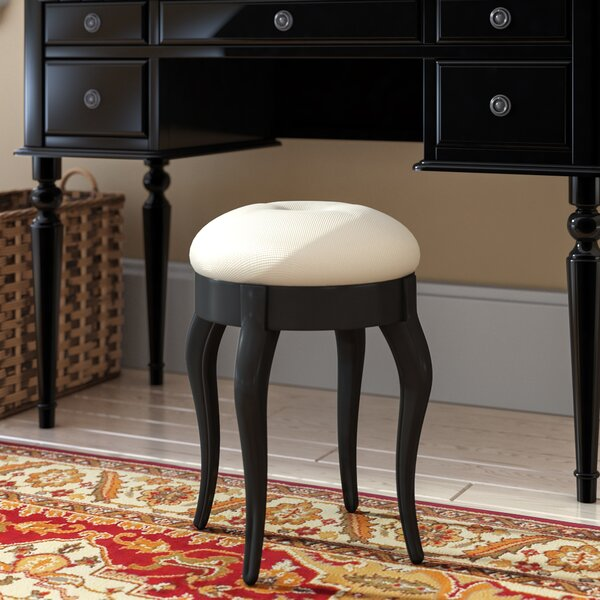 Clowers Vanity Stool by Andover Mills