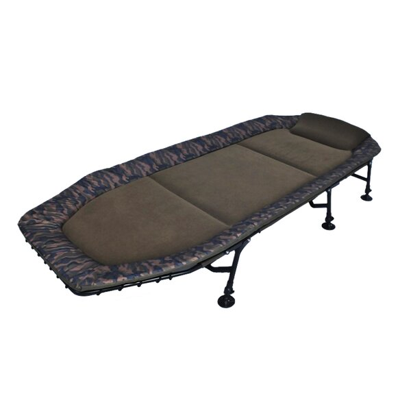 Memory Foam 6 Leg Fishing Single Bedchair Cot by Cosmopolitan Furniture