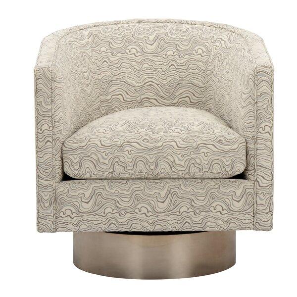 Marview Swivel Barrel Chair by Brayden Studio