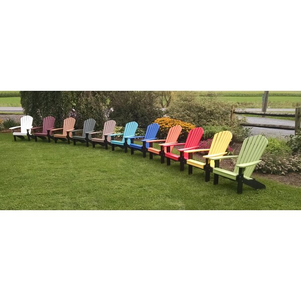 Risch Plastic Adirondack Chair by Brayden Studio