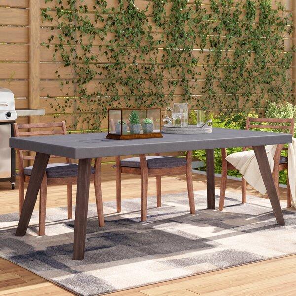 Shoreham Stone/Concrete Dining Table by Trent Austin Design