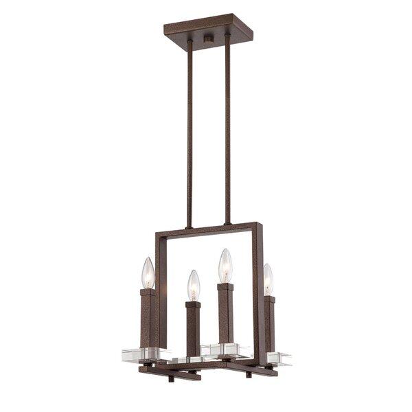 Marcucci 4 - Light Candle Style Square / Rectangle Chandelier by Gracie Oaks Gracie Oaks