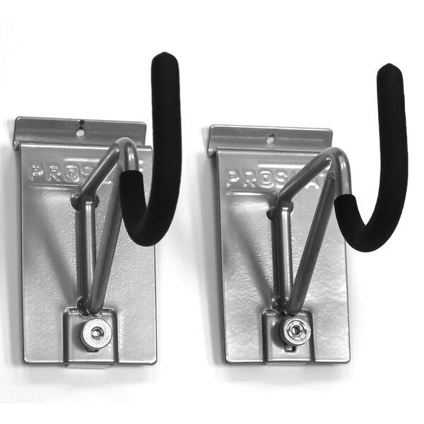 Heavy Duty U Shape Bike Slatwall Hooks (Set of 2) by Proslat