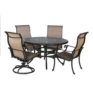 Kempf 5 Piece Dining Set By Darby Home Co