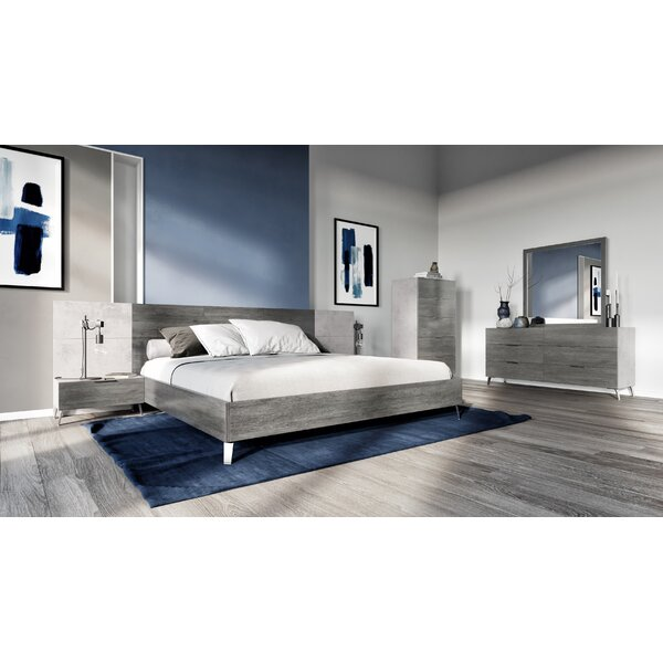 Xenia Platform 5 Piece Bedroom Set by Ivy Bronx