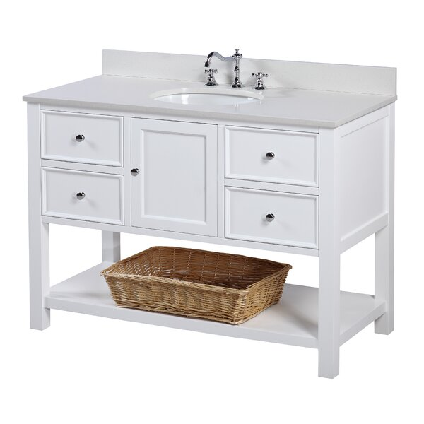 New Yorker 48 Single Bathroom Vanity Set by Kitchen Bath Collection