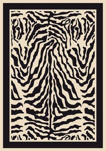 Innovation Print Zulu Zebra Area Rug by Milliken