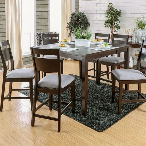 Legaspi Counter Height Dining Table by Alcott Hill