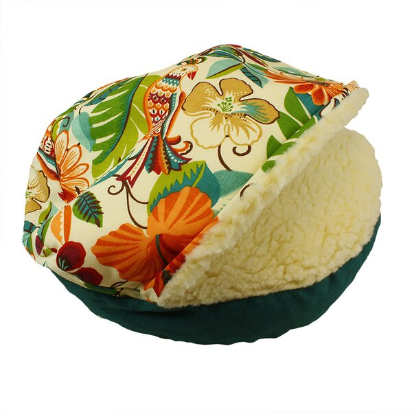 Pool and Patio Cozy Cave Jungle Dog Bed by Snoozer Pet Products
