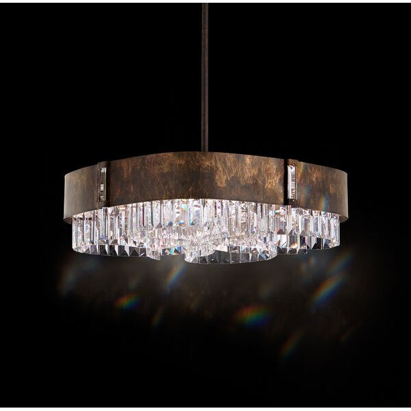 Zeppa 6-Light Kitchen Island Pendant by Schonbek
