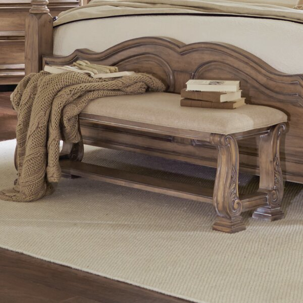 George Upholstered Bench by One Allium Way