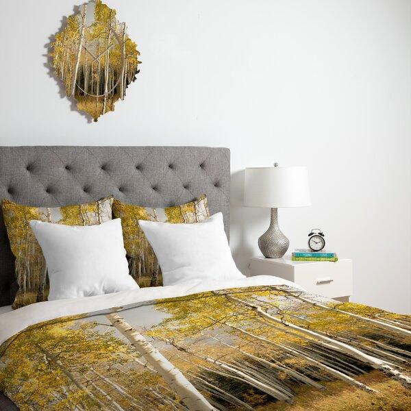 Golden Aspen Duvet Cover Collection