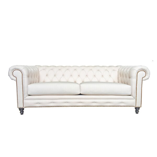 Mclaughlin Chesterfield Sofa by Canora Grey Canora Grey