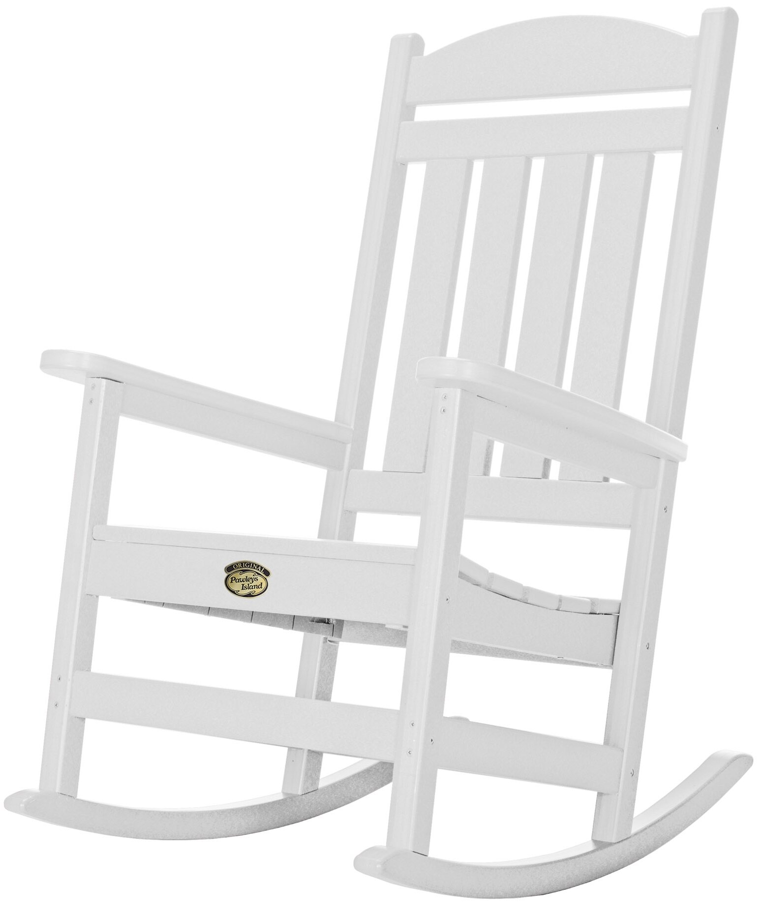 Darby Home Co Finnell Porch Rocking Chair U0026 Reviews | Wayfair