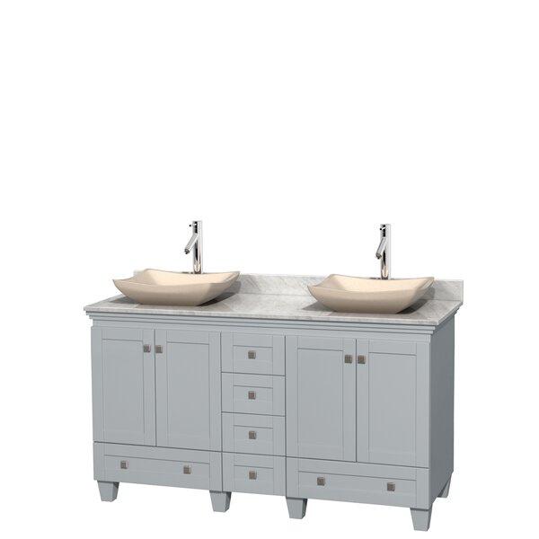 Acclaim 60 Double Bathroom Vanity Set