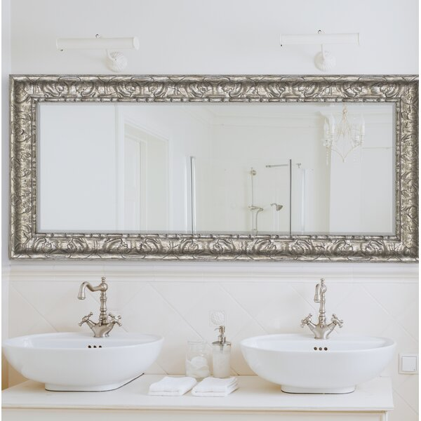 Vintage Silver Wall Mirror by Willa Arlo Interiors